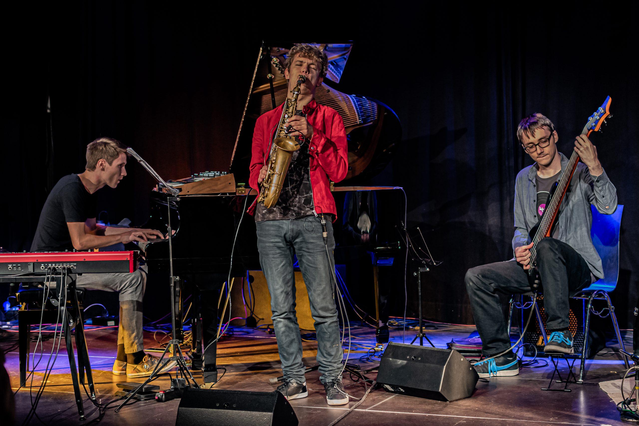 The Jakob Manz Project auf der Bühne
